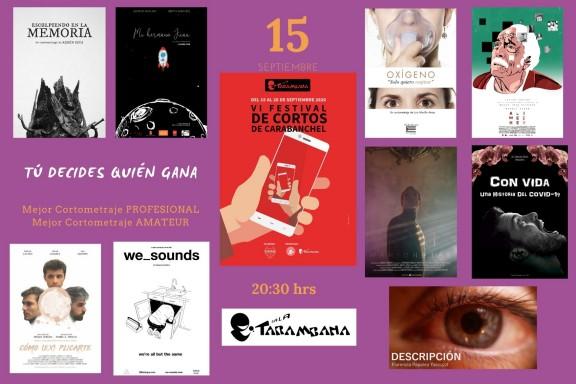 VI Festival de cortos de Carabanchel <br /> 15 de septiembre