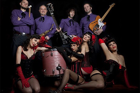 Evil, Evil Girrrls and The Malvados Burlesque Show