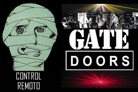 Control remoto + Gate doors