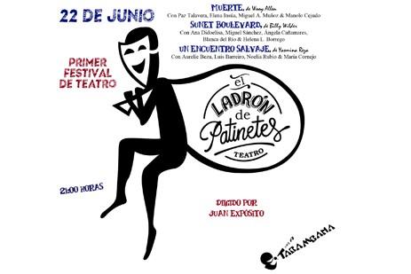 I Festival de Teatro E.L.D.P Miércoles 22 de Junio