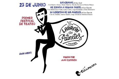 I Festival de Teatro E.L.D.P Jueves 23 de junio