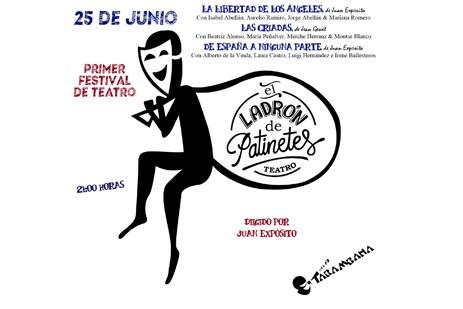 I Festival de Teatro E.L.D.P sábado 25 de junio.