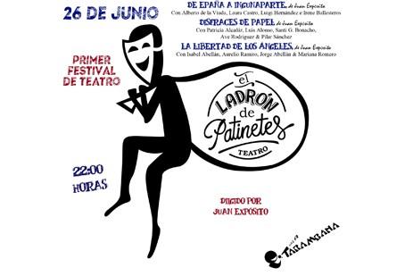 I Festival de Teatro E.L.D.P domingo 26 de junio