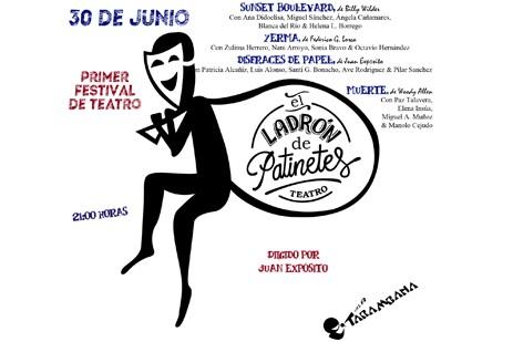 I Festival de Teatro E.L.D.P jueves 30 de junio