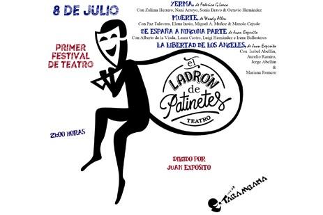 I Festival de Teatro E.L.D.P viernes 8 de julio
