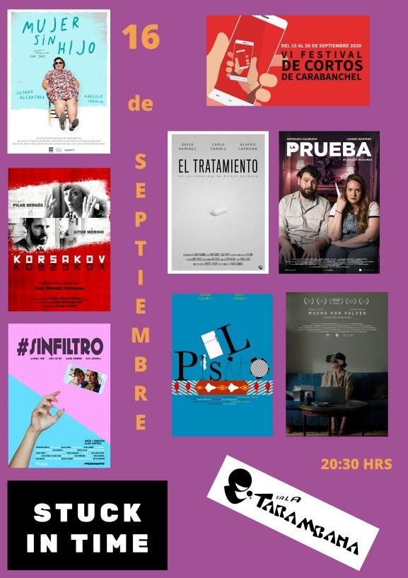 VI Festival de cortos de Carabanchel <br /> 16 se septiembre