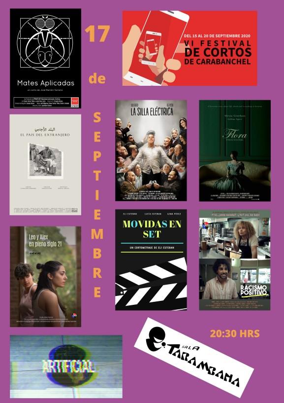VI Festival de cortos de Carabanchel <br /> 17 de septiembre
