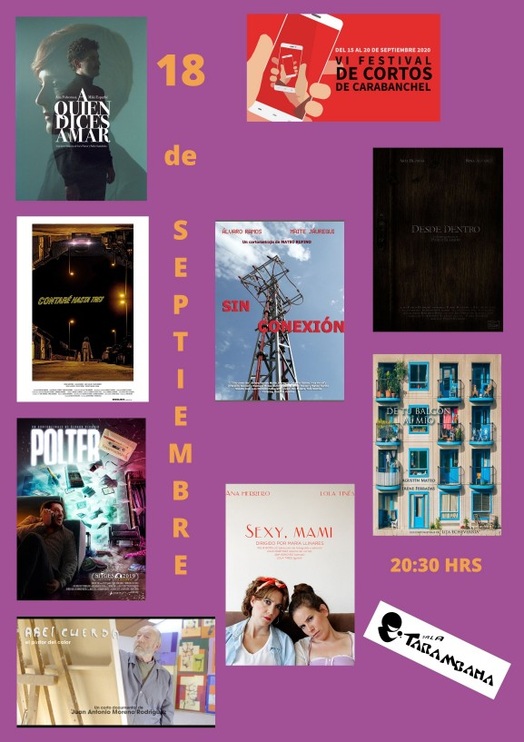 VI Festival de cortos de Carabanchel <br /> 18 de septiembre