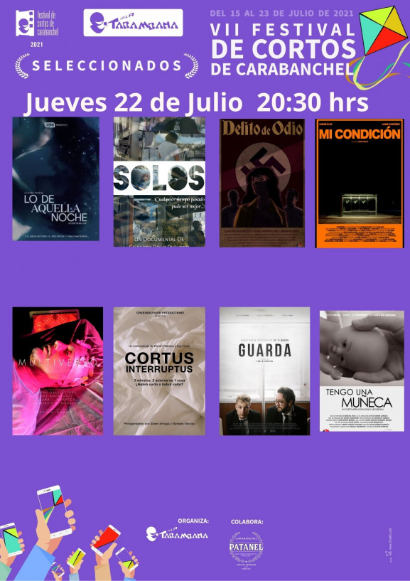 VII Festival de cortos de Carabanchel   <br /> Jueves 22 de julio