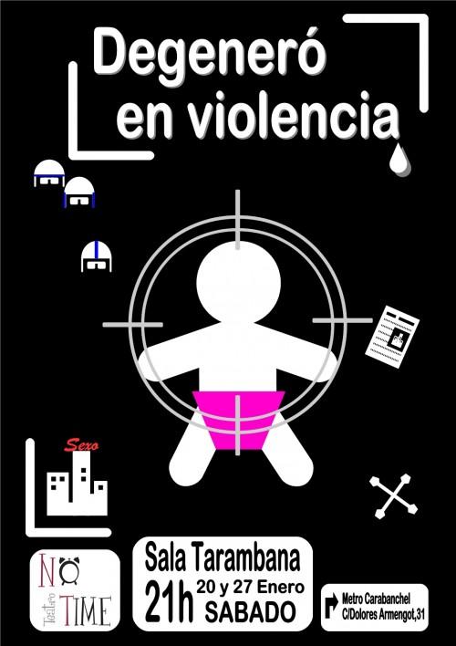 Degeneró en violencia.