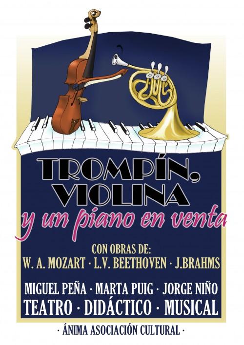 Trompín, Violina y un piano en venta